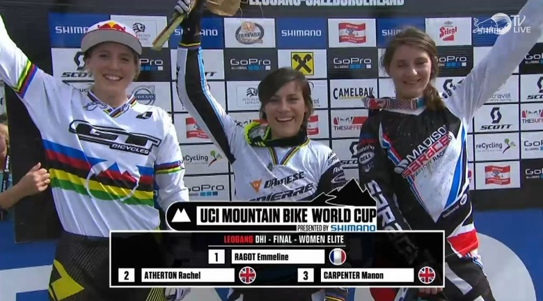 Stevie Smith and Emmeline Ragot Win Leogang World Cup, Overall Titles Decided
