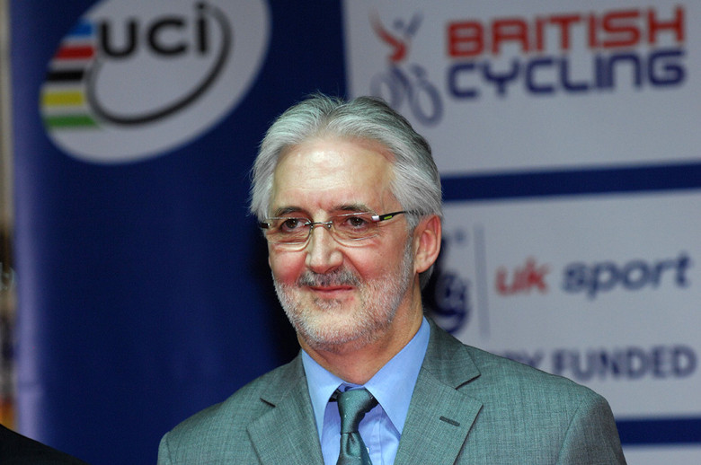 Brian Cookson - photo from www.cyclingweekly.co.uk