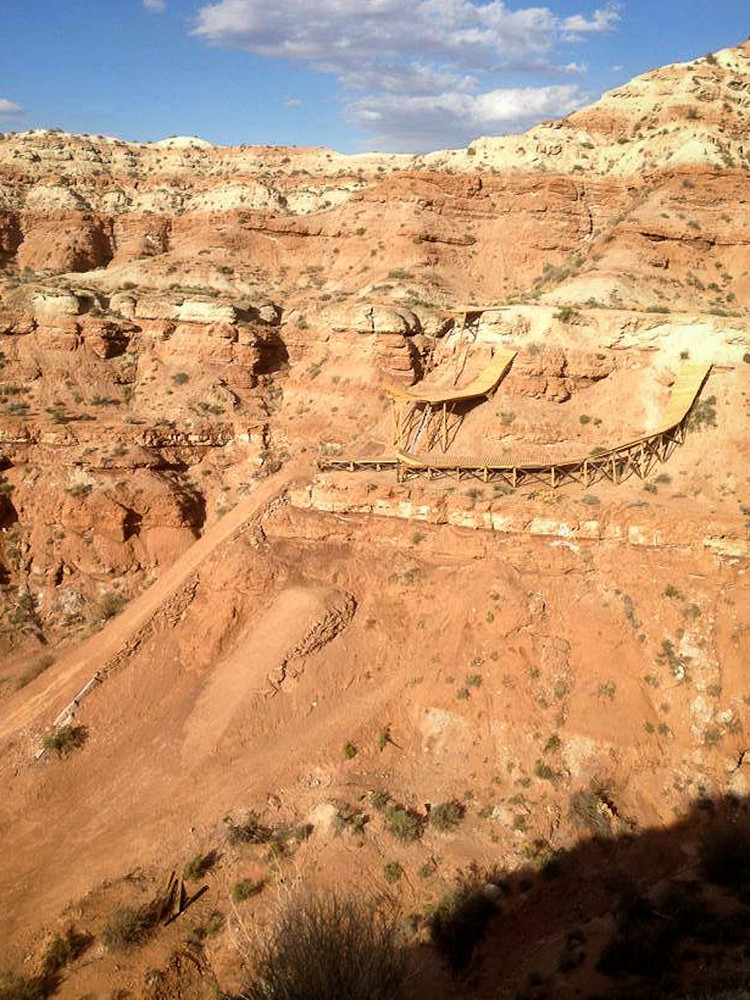 Cam Zink's 2013 Red Bull Rampage Plan? The Biggest Step-Down Flip in History