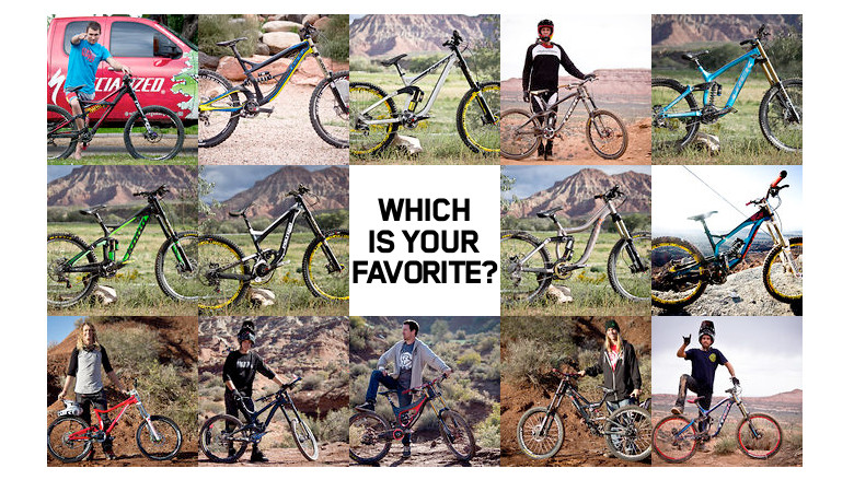 Out of These 14 Rampage Bikes, Which is Your Favorite?