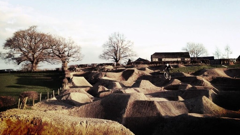 Want To Own The World's Sickest Backyard Track?
