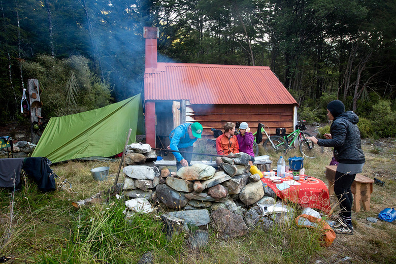Overnighter in the Kahurangi National Park with Housemartin All Mountain Adventures. Nelson and surrounds, New Zealand.