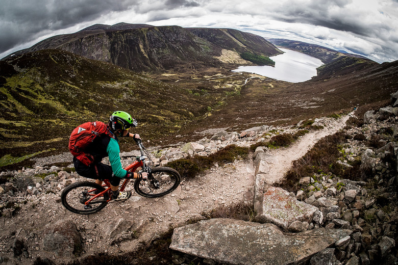 Not too far from the Royal Lochnagar Distillery in the Scottish Highlands, you can see nature's natural filtration for all that whiskey hard at work. Check out Go Where Scotland for more awesome rides.