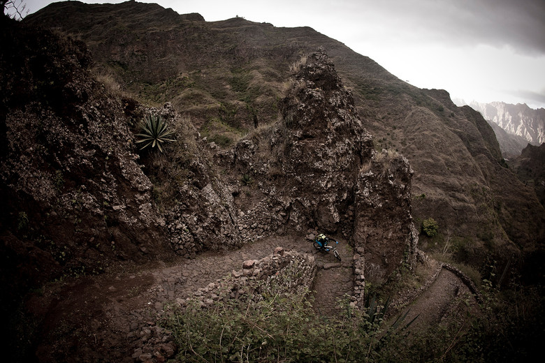 Santo Antao, Cabo Verde in the middle of nowhere really, off the coast of West Africa in the Atlantic ocean. Centuries old trade and pack routes made up some of the blind racing in the Urge Invitational.