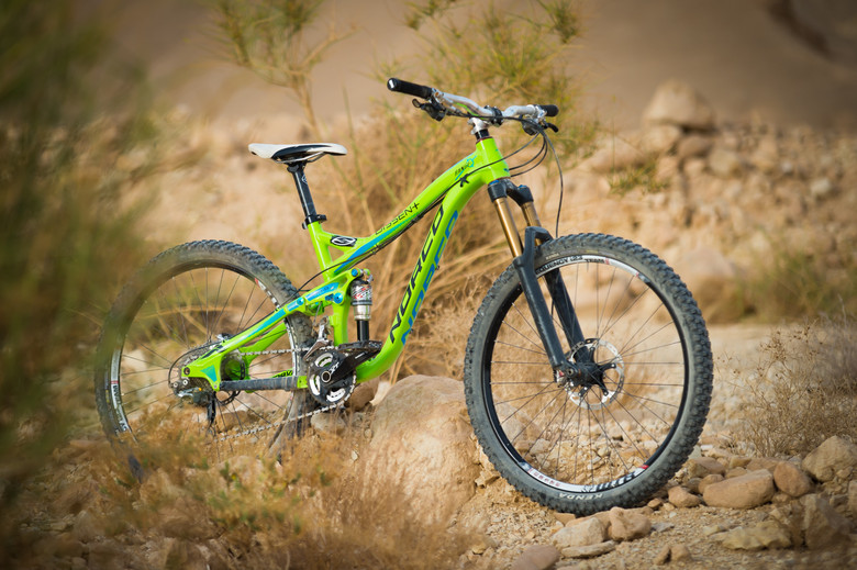 Mike's Norco Range took a beating throughout the week, and kept coming back for more