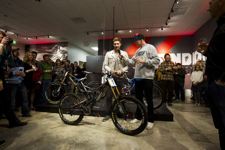 Santa Cruz Launch Limited Edition Greg Minnaar Replica V10