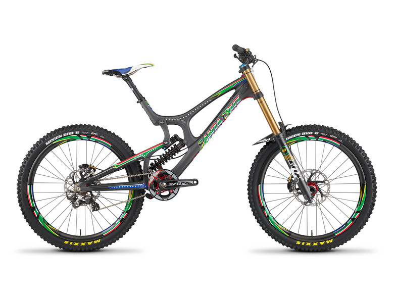 Santa Cruz Launch Limited Edition Greg Minnaar Replica V10
