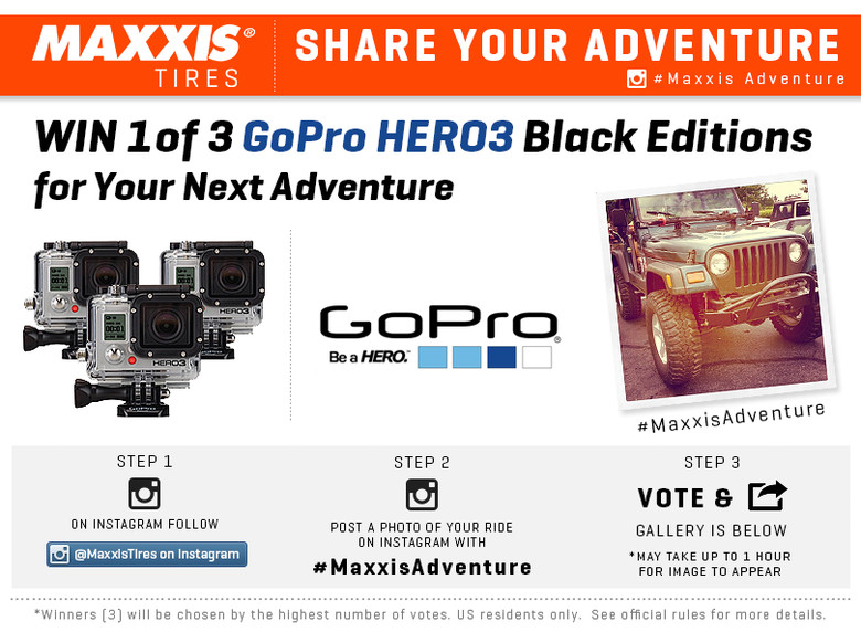 Share Your Adventure on Instagram in Maxxis' New Contest!