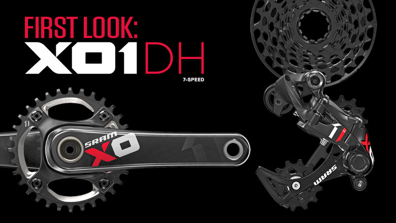 First Look: SRAM's 7-Speed X01 DH Drivetrain Takes Downhill Gearing to the Next Level