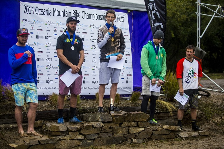 Sam Blenkinsop Wins 2014 Oceania Downhill Championship