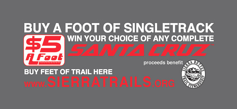 Buy Some Trail, Win a Santa Cruz of Your Choice!