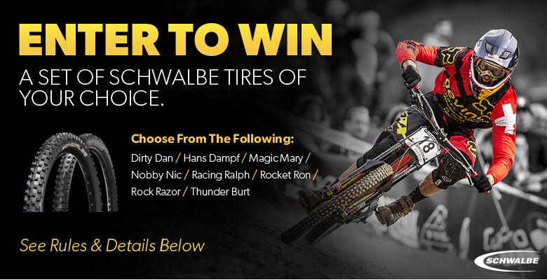 WIN BIG! Art's Cyclery Schwalbe Tires Sweepstakes