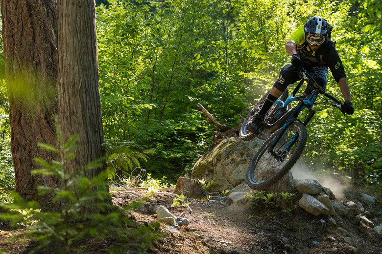Giant's Road Marketing Specialist, Doug Barnett, throws down harder than most mountain bikers.