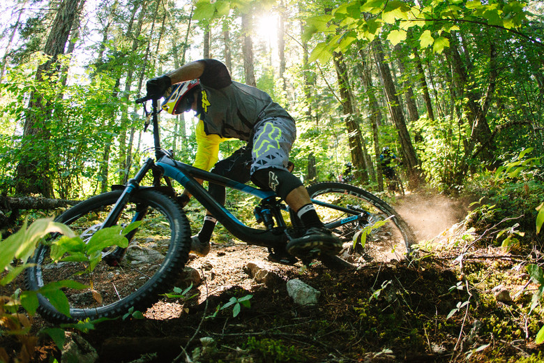 Silas Hesterberg, a Giant Off Road Product Developer, was largely responsible for the new Reign 27.5. He shreds with the best of them.