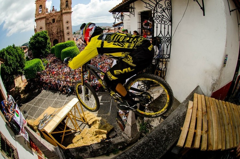 Filip Polc, Taxco Downhill 2013 - photo by Dave Trumpore.
