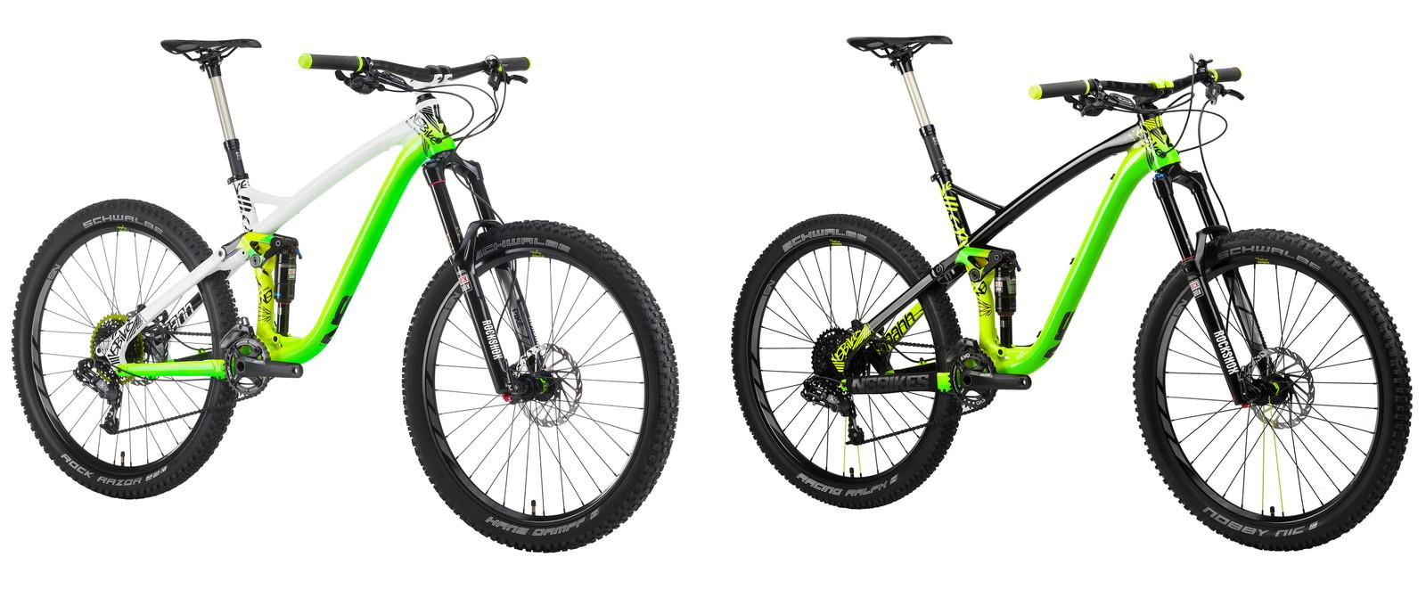 First Look 2015 Ns Snabb Enduro And Trail Bikes Mountain Bikes