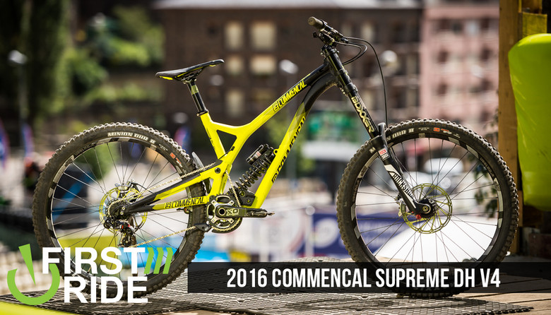 First Ride: Commencal Supreme DH V4