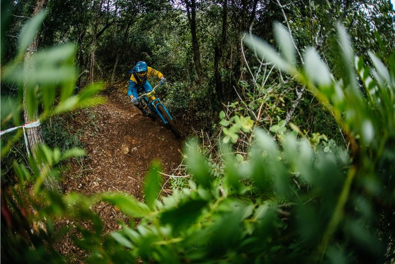 Richie Rude keeping it real on Day 1 - photo Duncan Philpott.