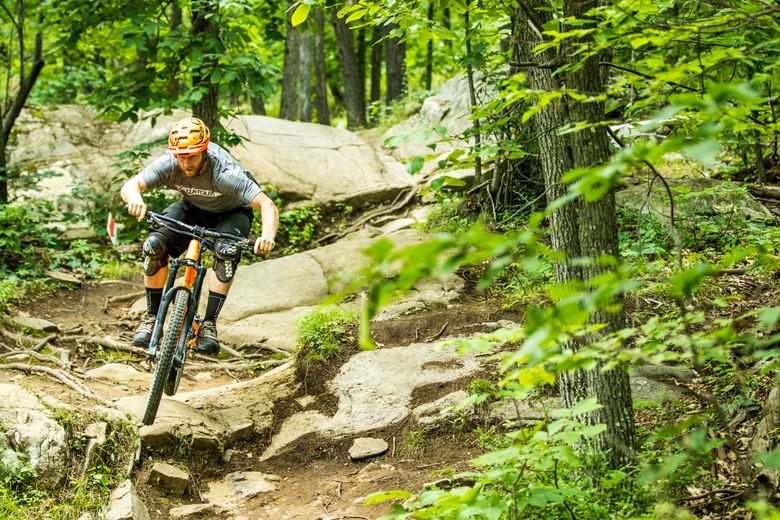 Save the jump trails, Mountain Creek's terrain is anything but smooth.