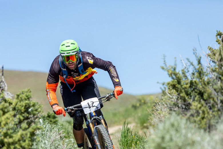 Ryan Gardner crushed the course Saturday and finished first in Pro Men with a time of 23.55.5. Photo: Called to Creation