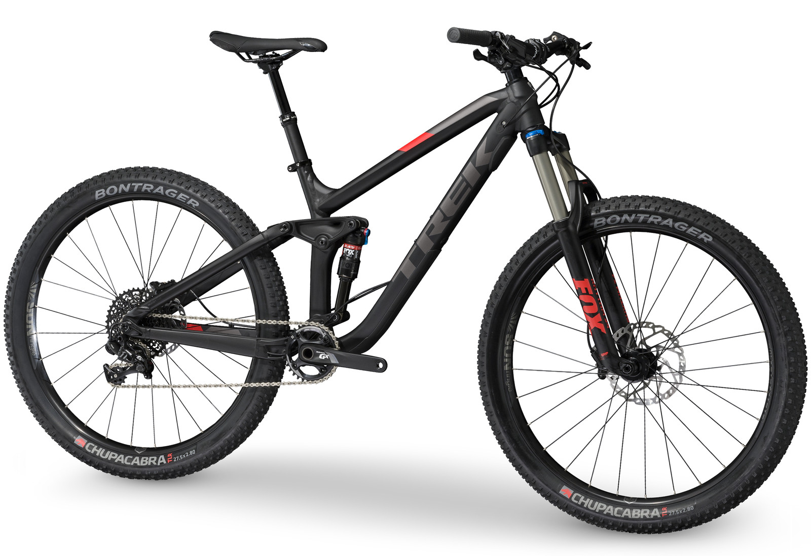 First Look 2017 Trek Fuel Ex 27 5 Plus Mountain Bikes Feature