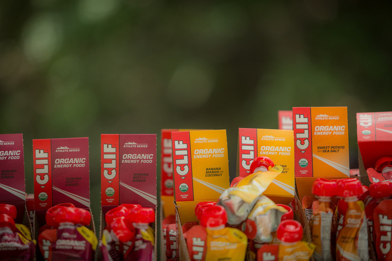 Clif Bar was on hand to provide nutrition products for the participants.