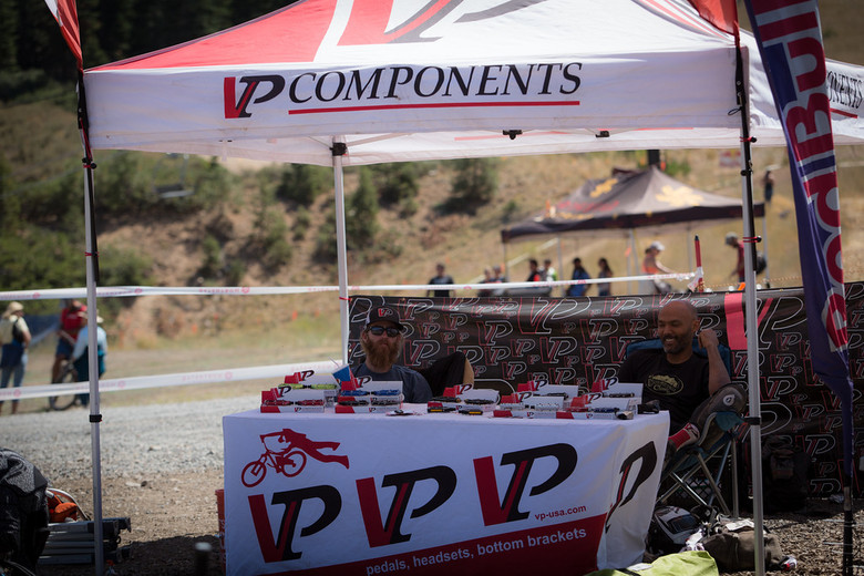 VP Components came out to show their support. VP makes quality components at a price point that doesn't break the bank.