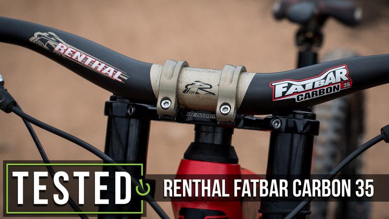 Renthal Fatbar Carbon 35 Handlebar Reviews Comparisons Specs