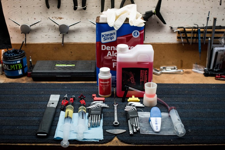 From the Workbench: At-Home Brake Bleed