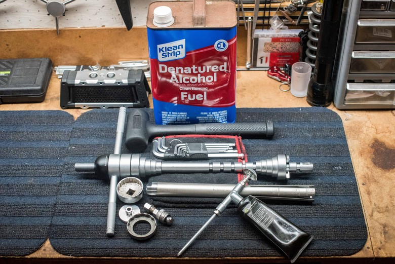 From the Workbench: At-Home Bottom Bracket Maintenance