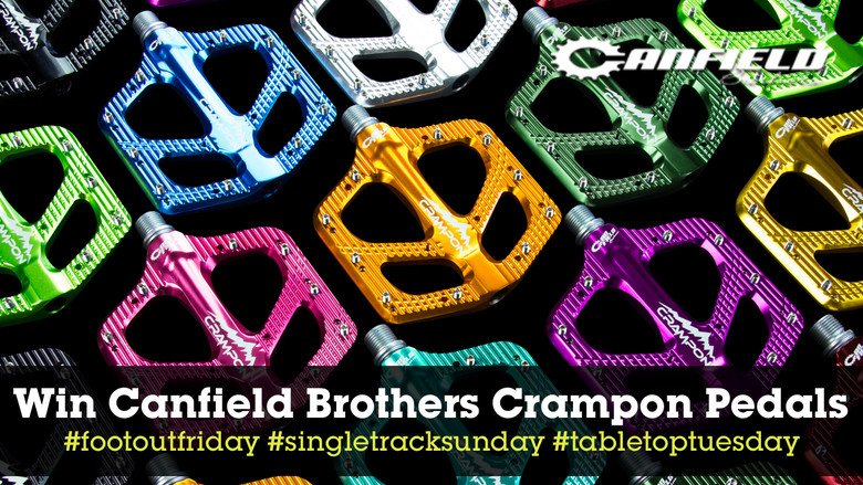 Winners Announced - Canfield Crampon Flat Pedals Instagram Contest