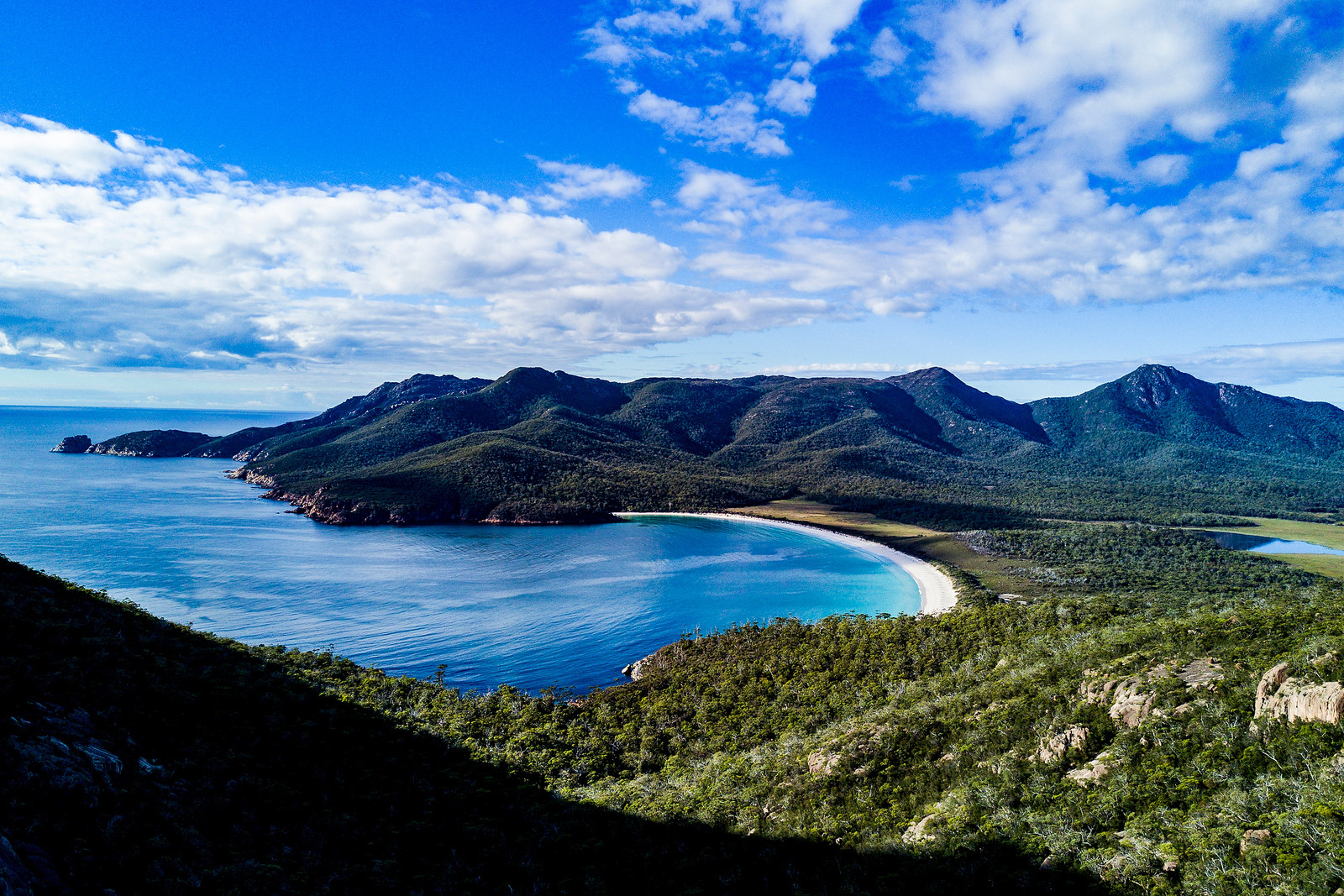 So many cool places just a short drive away from the venue which many of the teams have been able to visit between Rotorua and here. Wineglass Bay voted one of World's top ten beaches.