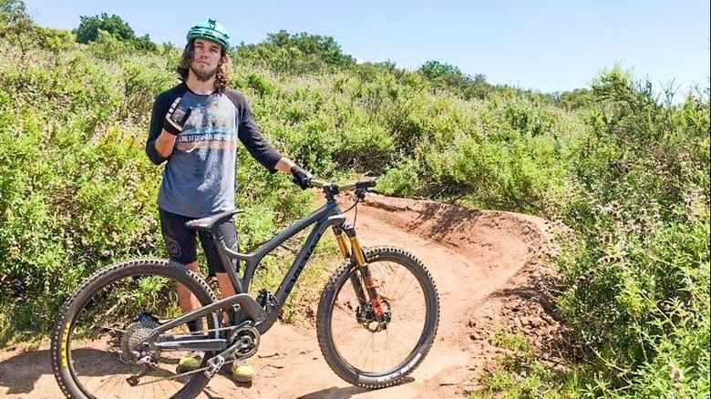 Jake Smith Debuts his Custom EVIL Following slalom bike for the 2017 Sea Otter Classic!