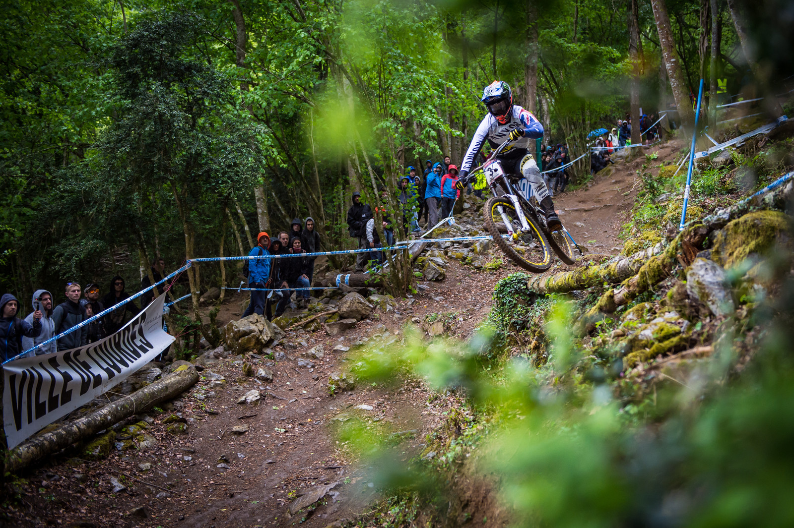 Sadly, the weather threw a big spanner in the works and robbed us of getting a few more answers here in Lourdes. Troy Brosnan's run was ruined - he still sent the gully gap though, as the true shredder that he is.