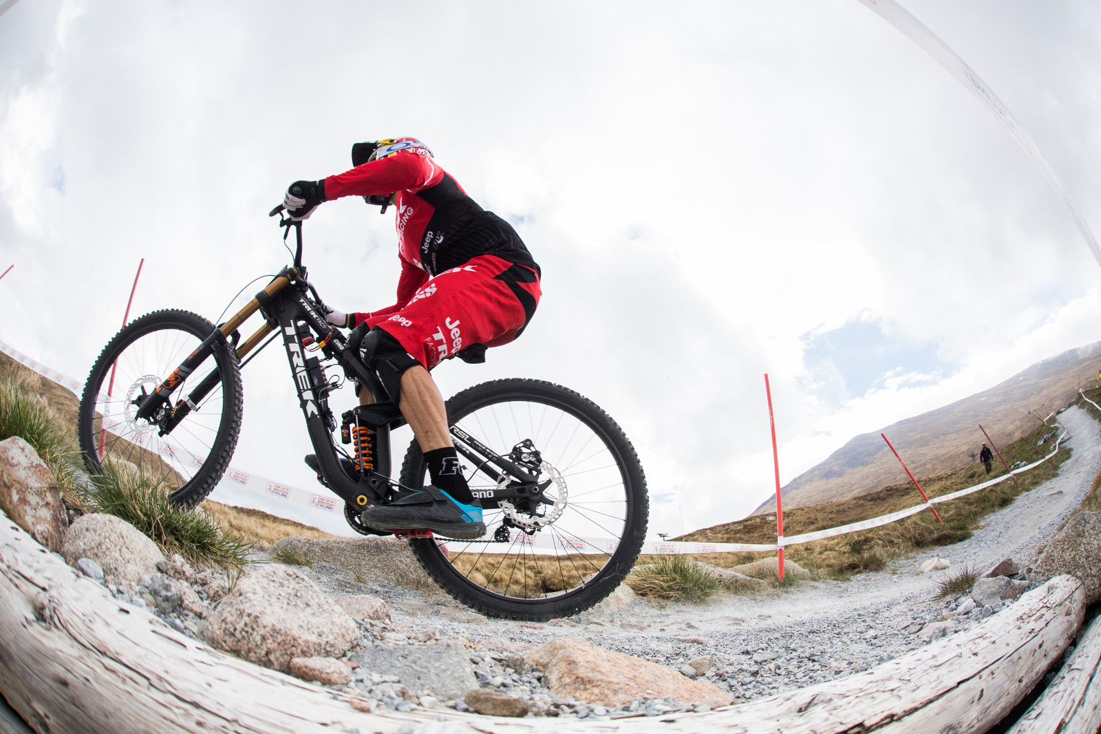 Gee Atherton at the Fort William BDS prior to injury.