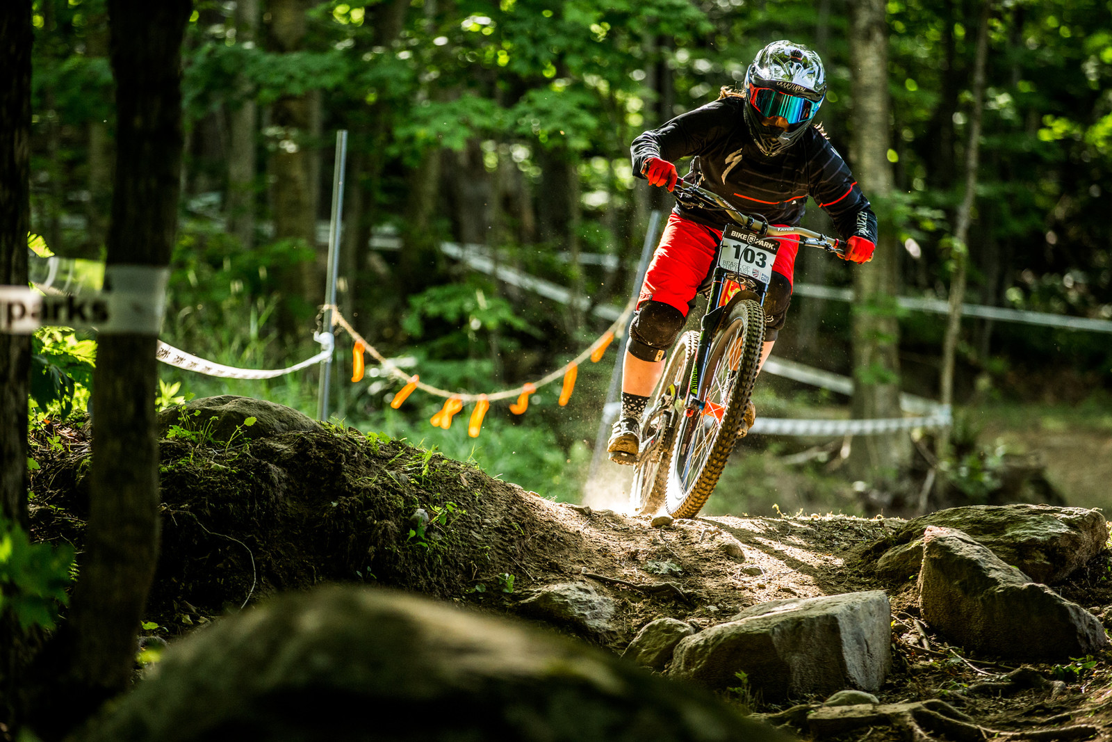 Angelina Palermo retains her points lead in the Pro GRT Pro Women's field with a 3rd place at Killington.