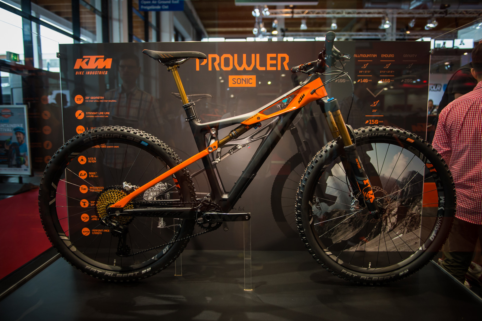 ktm prowler 150mm travel 29er bike mountain bikes. Black Bedroom Furniture Sets. Home Design Ideas