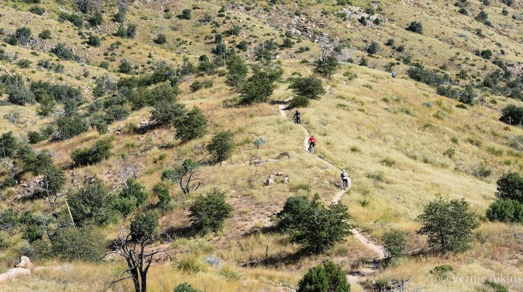 We have singletrack as far as the eye can see!