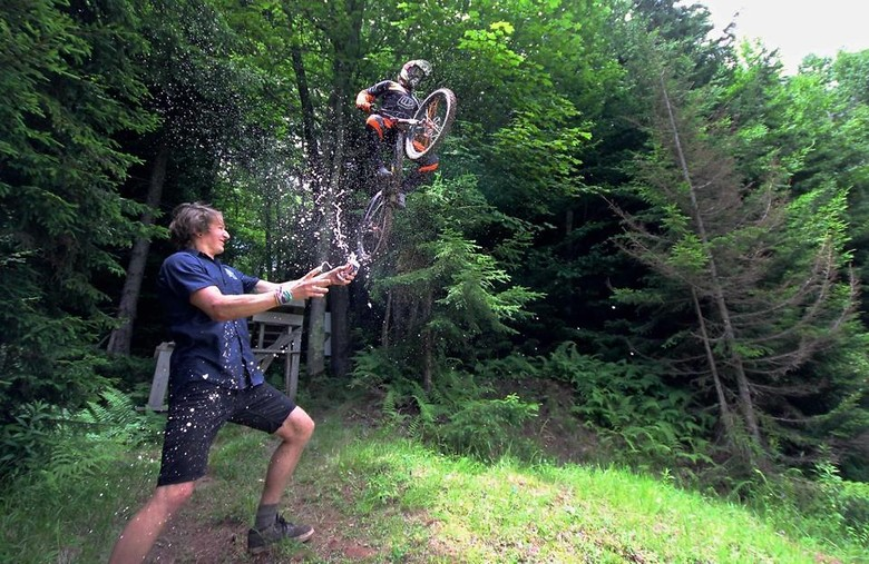 Hold My Beer Son - ZFHProductions - Mountain Biking Pictures - Vital MTB
