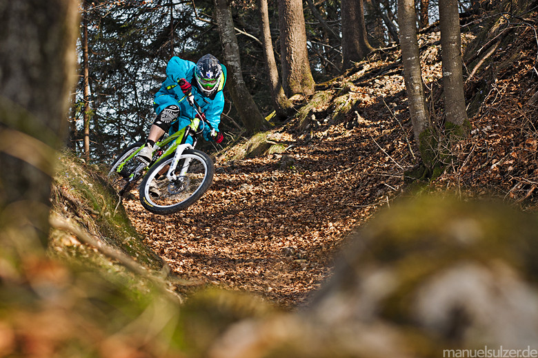 Natural Corner  - Hannes Klausner - Mountain Biking Pictures - Vital MTB