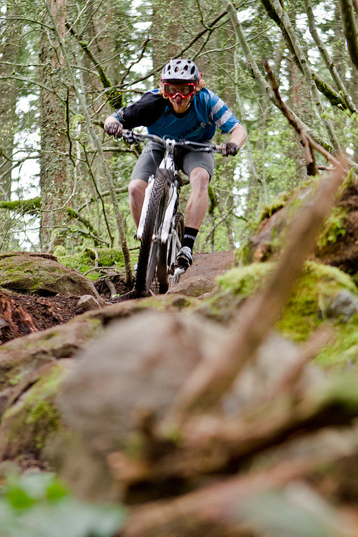 Nathan Riddle - Oregon Super D Race #1: Hood River - Mountain Biking Pictures - Vital MTB
