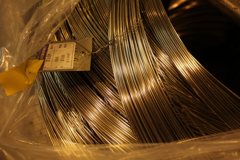 304 Stainless Wire - Hayes Components Factory Tour - Mountain Biking Pictures - Vital MTB