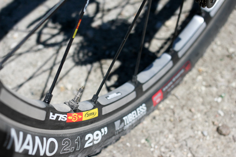 Mavic Crossmax SLR 29 - Sea Otter Classic Pit Bits - Day 1 - Mountain Biking Pictures - Vital MTB