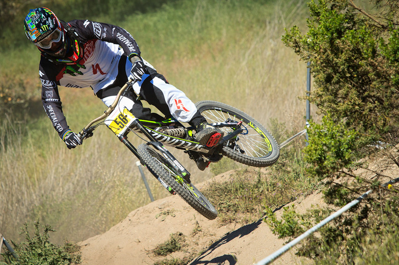 Troy Lee Designs SE PRO Bike Gear - Sam Hill - Sea Otter Classic Pit Bits - Day 2 - Mountain Biking Pictures - Vital MTB