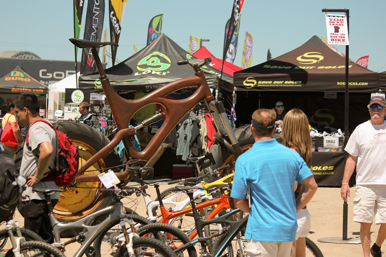 Ibis Went Huge  - Sea Otter Classic Pit Bits - Day 2 - Mountain Biking Pictures - Vital MTB
