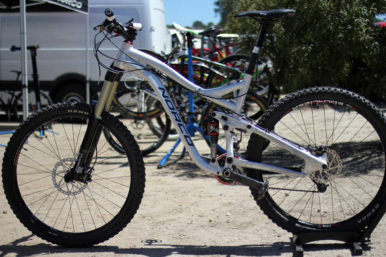 Norco's 650b Prototype - Sea Otter Classic Pit Bits - Day 3 - Mountain Biking Pictures - Vital MTB