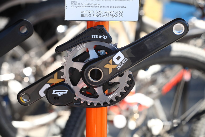 MRP Bling Ring and Micro G2 SL Guide - Sea Otter Classic Pit Bits - Day 3 - Mountain Biking Pictures - Vital MTB