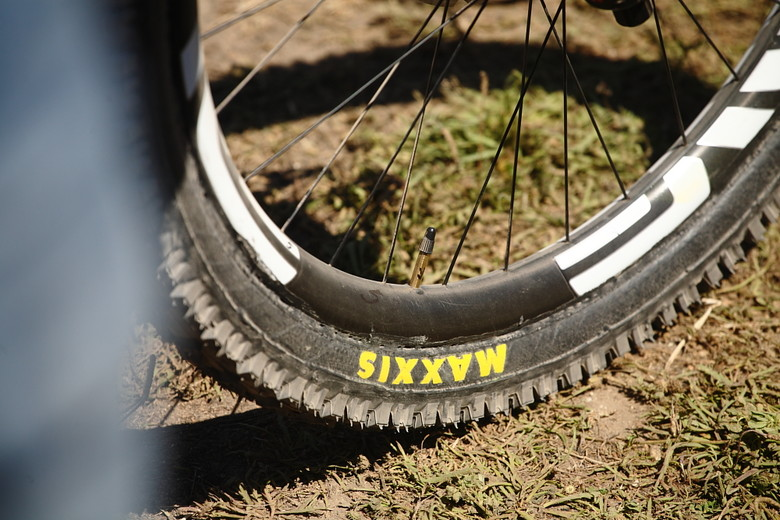 New Maxxis Tires? - Sea Otter Classic Pit Bits - Day 4 - Mountain Biking Pictures - Vital MTB