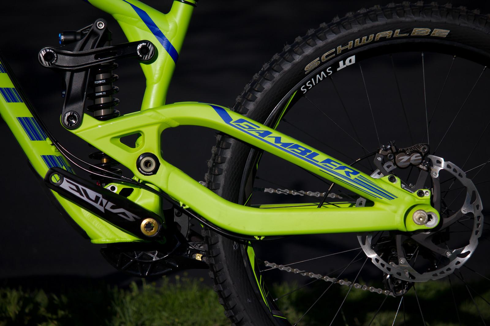2013 Scott Gambler 10 - Rear Triangle - First Look: 2013 Scott Gambler 10 - Ready For Production - Mountain Biking Pictures - Vital MTB