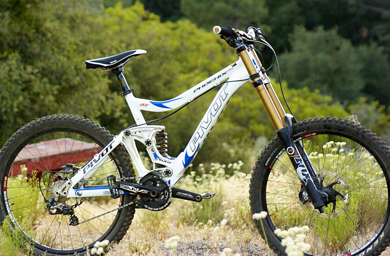 First Look: Vital's Pivot Phoenix DH Test Bike - First Look: Vital's Pivot Phoenix DH Test Bike - Mountain Biking Pictures - Vital MTB